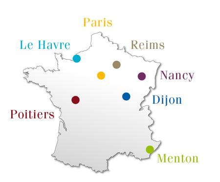 6 cơ sở hàng đầu của học viện nghiên cứu chính trị Paris