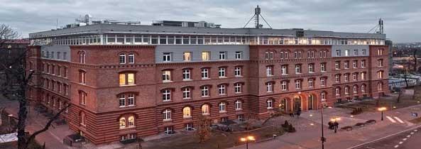 campus Đại học Kinh tế Cracow (CUE)