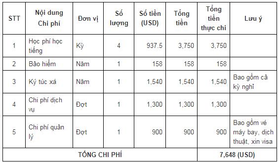 chi-phi-hoc-tieng-tai-dh-chosin