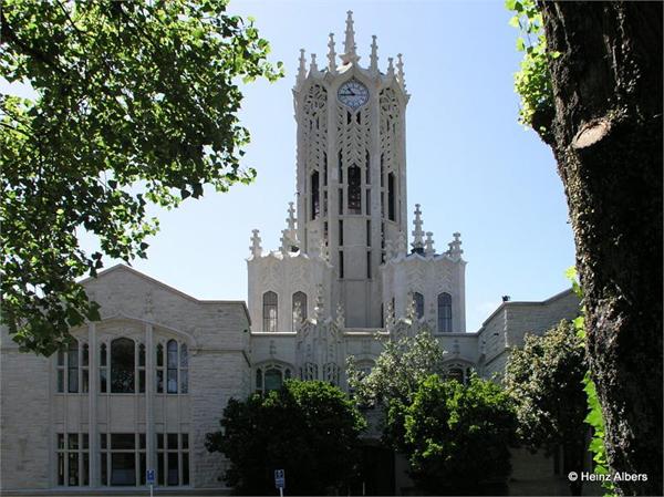 khuôn viên trường Đại học Auckland -New Zealand