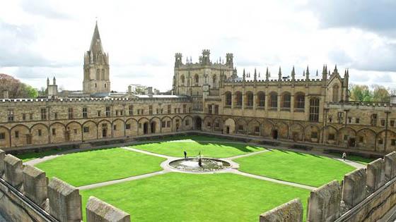 Khuôn viên trường đại học Oxford