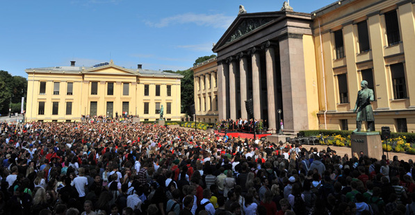 quảng trường đại học Oslo