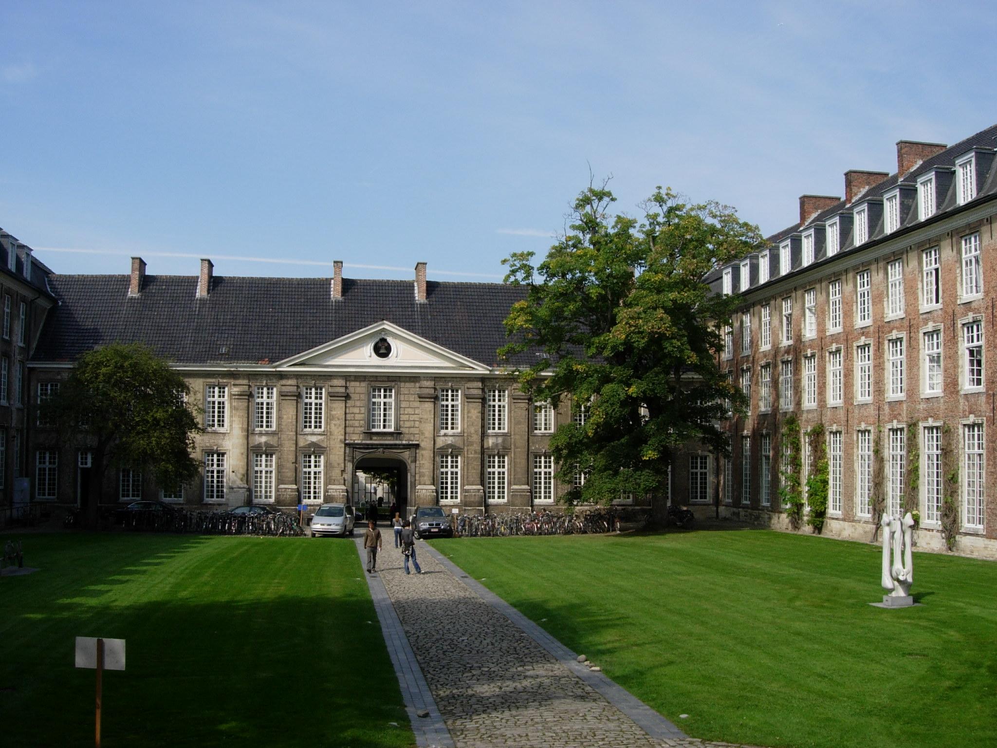 Khuôn viên đại học Ku Leuven