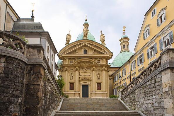 Thành phố Graz với trung tâm lịch sử Scholoss Eggenberg