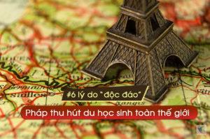 6 lý do độc đáo khiến Pháp thu hút rất nhiều du học sinh