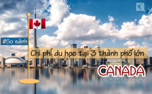 So sánh chi phí du học tại 3 thành phố lớn Canada