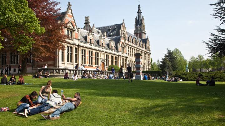 khuôn viên đại học Vrije Brussels