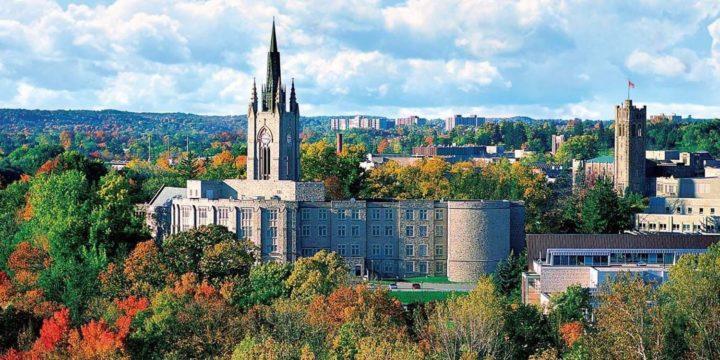 cảnh đẹp mùa thu tại đại học western