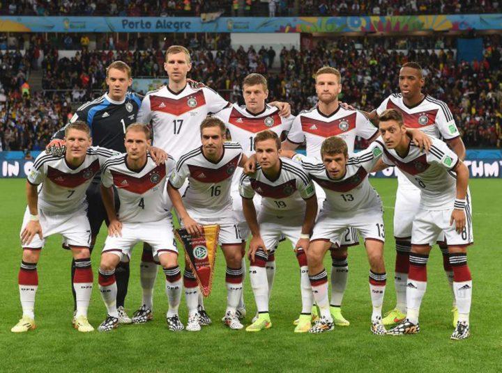 bóng đá đức đứng đầu thế giới