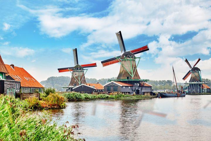 khám phá cối xoay gió ở Hà Lan