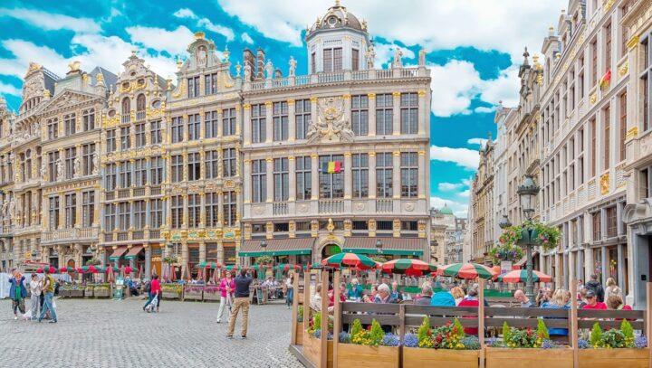 Brussels, Vương quốc Bỉ - thành phố đa quốc tế