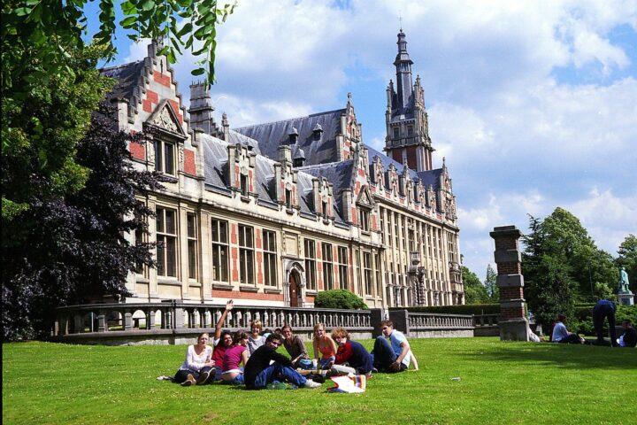 sinh viên ở bỉ
