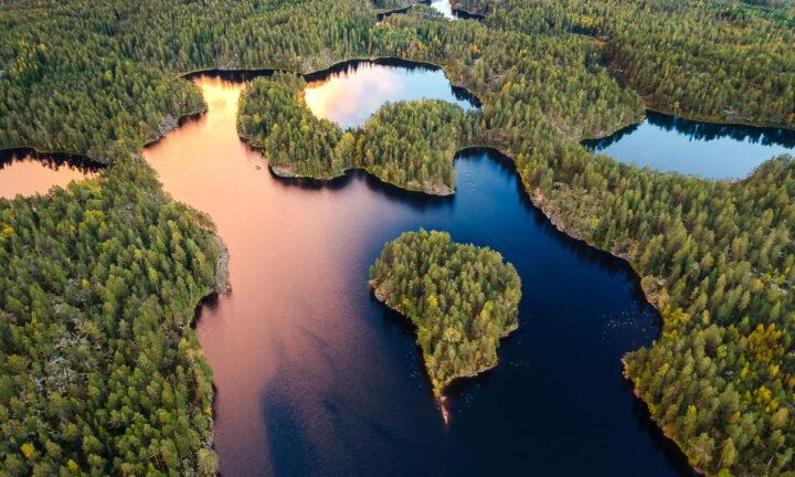 có rất nhiều hồ ở phần lan
