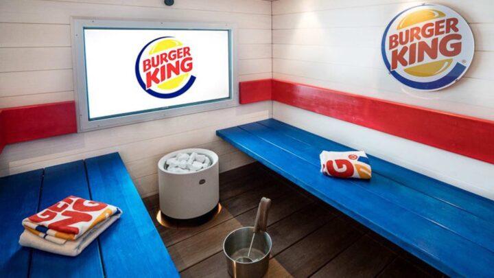 phòng xông hơi ở burger king phần lan