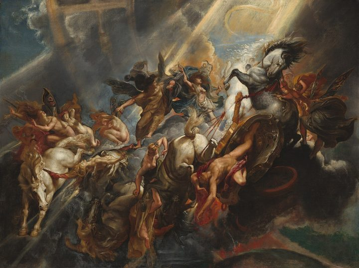 The Fall of Phaeton, 1604, National Gallery of Art, Washington, D.C.