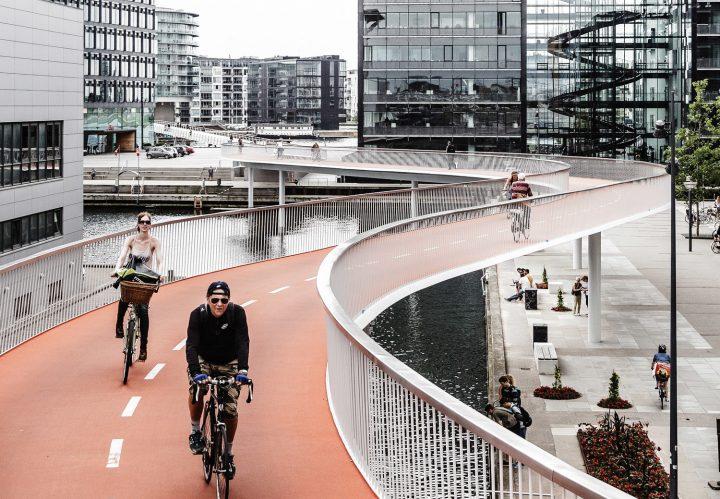 đường dành riêng cho xe đạp tại đan mạch