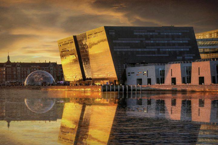thư viện Black Diamond ở Copenhagen, Đan Mạch