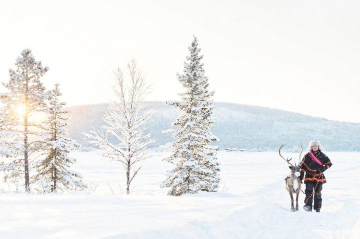 ngắm tuyết trặng siêu đẹp ở thụy điển