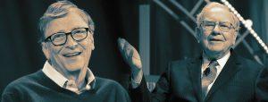 """Tỷ phú Bill Gates và Warren Buffett nhắn sinh viên: """"Hãy chọn bạn mà chơi"""""""