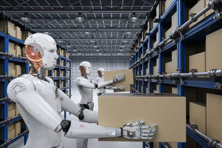 robot có thay thế con người trong quản trị chuỗi cung ứng